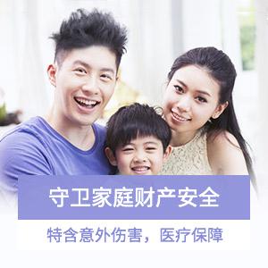新一站全家人身财产双保障家财险